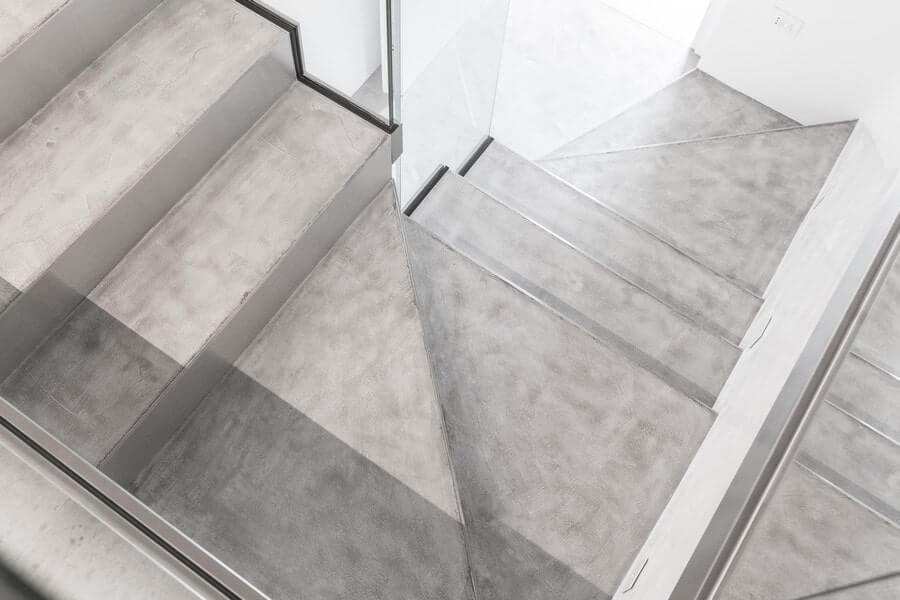 09 – Esempio Pavimento in Cemento Futura Dust